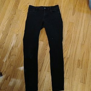 Old Navy Mid rise rockstar jeans - long